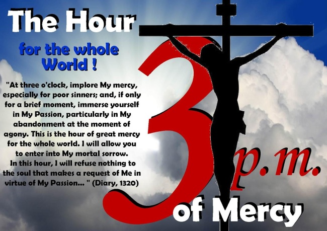 divine mercy prayer at 3 o clock pdf